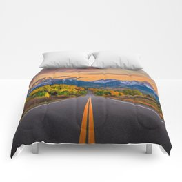 The Road To Telluride Comforters