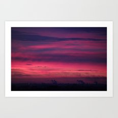 Urban Dawn Art Print