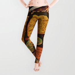 Terracotta HappyMess #society6 #buyart Leggings