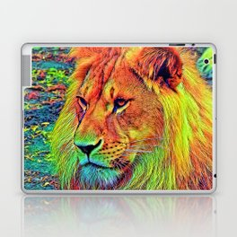 AnimalColor_Lion_004_by_JAMColors Laptop & iPad Skin
