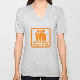 """""""Periodic Whiskey"""" tee design. Awesome and unique fabulous gift to your family and friends!  Unisex V-Neck"""