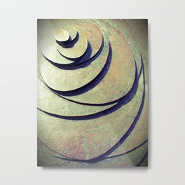 Untitled Bronze - Gouda - NL Metal Print