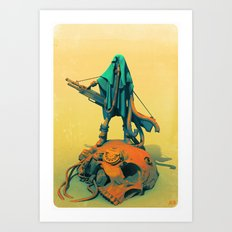 Jack the Giant Hunter Art Print