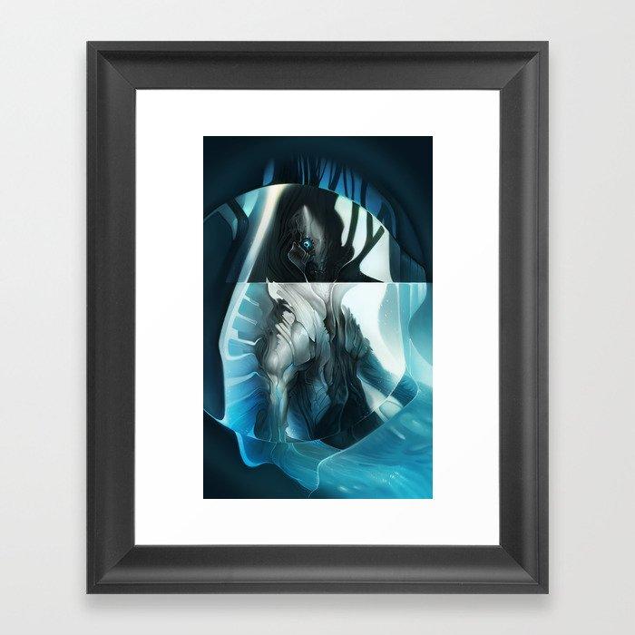 Ether Navigator Framed Art Print
