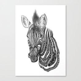 Aztec zebra Canvas Print