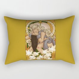 Chronos III Nouveau Rectangular Pillow