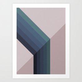 A Huge Gap Art Print