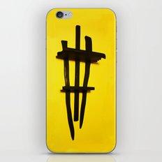 Warrior Shelf iPhone & iPod Skin