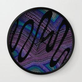 Trippy Circle Swirl - Abstract Art Wall Clock