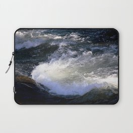 Morning Sun on the Rapids of Vallecito Creek, No. 2 of 2 Laptop Sleeve
