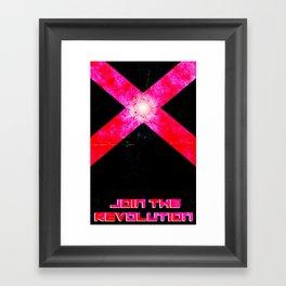 Join the REVOLUTION Framed Art Print