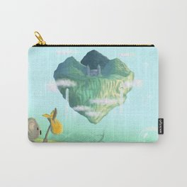 mysteriously bubble Island Carry-All Pouch