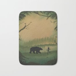 The Jungle Book by Rudyard Kipling Bath Mat