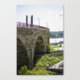 Mill Ruins Canvas Print