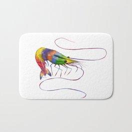 Colorful Shrimp Bath Mat