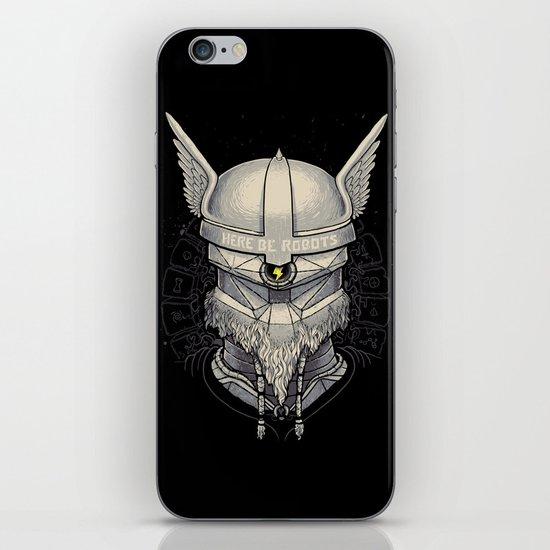 Viking robot iPhone & iPod Skin