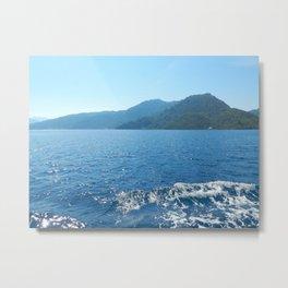 Mediterranean Aegean sea the Turkey, Marmaris Metal Print