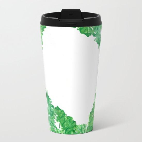 too many leaves Metal Travel Mug