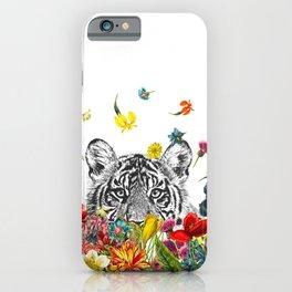 Happy Tiger iPhone Case