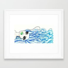 Lady of the Sea Framed Art Print