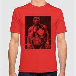 Mike Tyson Pencil Drawing T-shirt