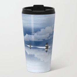 Traveling through the sky Travel Mug