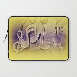 All for music!.    www.lavitamusicgifts.blogspot.com  Laptop Sleeve