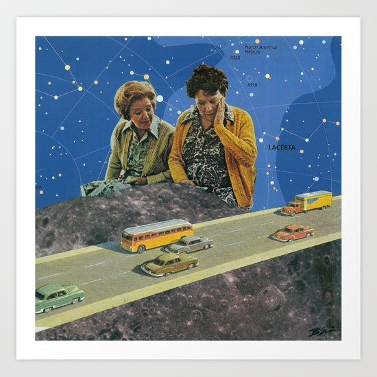 I Liked the Moon Better Before it Got All Touristey Art Print