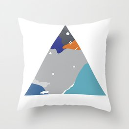 020 - Very late night, I couldn't sleep cause of moon light. Throw Pillow