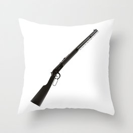 This Town Ain't Big Enough for Both of Us Throw Pillow