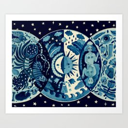 Little Universe Art Print