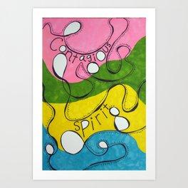 Contagious Spirit  Art Print