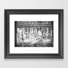 reflected Framed Art Print
