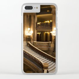 Palais Garnier Staircase -  Paris Opera House II Clear iPhone Case