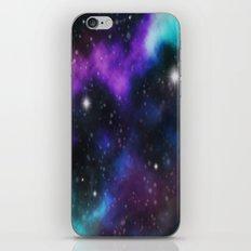 Galaxy Purple and Blue  iPhone & iPod Skin