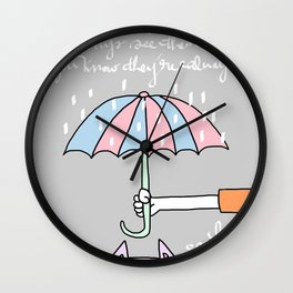 Always There Wall Clock