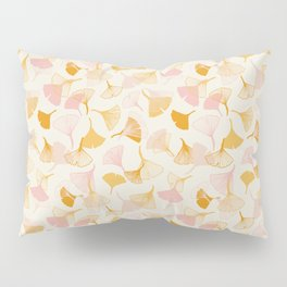 Ginko leaf pattern Pillow Sham