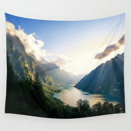 Swiss Alps Wall Tapestry
