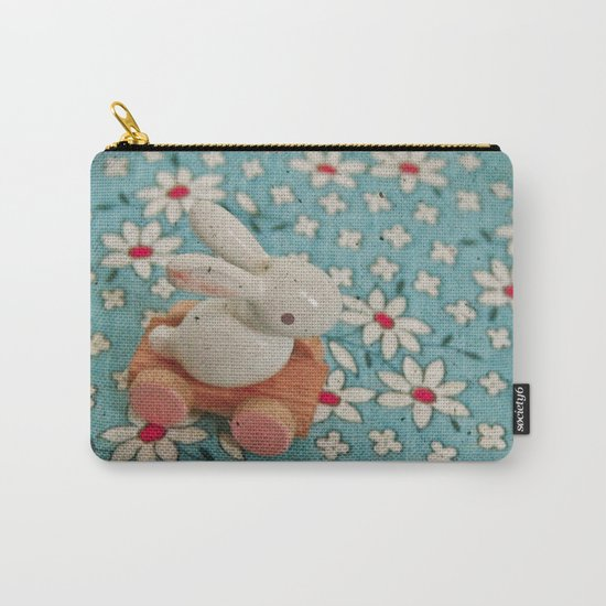 Bunny Blues Carry-All Pouch