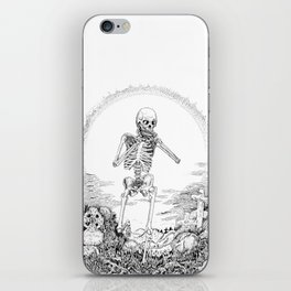 Death and Harmonica iPhone Skin