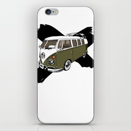Groovy BUS (no text) iPhone Skin