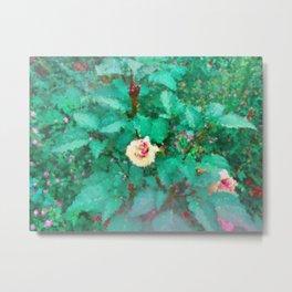 The Green Garden Metal Print
