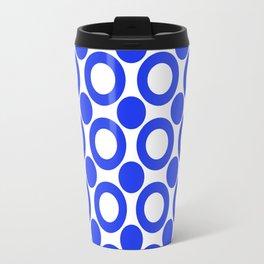Dot 2 Blue Travel Mug
