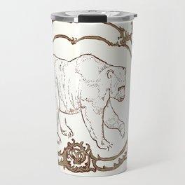 Bear Vignette Travel Mug