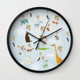 the sky zoo Wall Clock