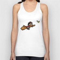 quidditch Tank Tops featuring Quidditch by Yildiray Atas