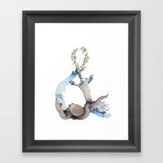 Ocean Memories Framed Art Print