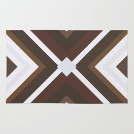 Geometric Art with Bands 08 Rug