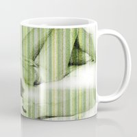 naked Mugs featuring Naked by Cesar Peralta