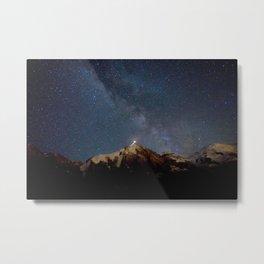 Galaxy, 2017 Metal Print